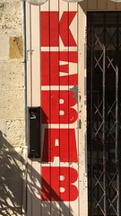 KEBAB (frankrolf) Tags: castillonlabataille jackusine kebab signpainting