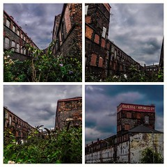 Dark clouds loom over guest and chrimes in Rotherham (watergypsyrach) Tags: guestandchrimes derelict factory rotherhamindustry industrialheritage rotherham southyorkshire england uk rainclouds dramaticsky darkclouds