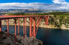 DSC03675-2 (UmitCukurel) Tags: sunset zadar croatia sea bridge sky travel jasenice zadarskaupanija hr