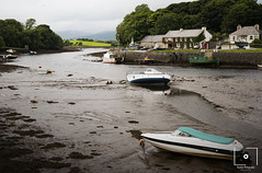 Newport lay the boats (BuckleyPhotographer) Tags: newport boats ireland sea sealife seascape scenic lanscape art cottage mayo coast coastline town village seaweed tide lowtide