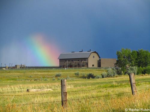 Photo - Rainbow and Barn