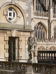 Roman Baths, Bath (jay galvin) Tags: public abbey statue bath roman baths juliusceasar