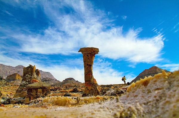 Иран, Джашк, соляной купол