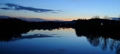 Fin de journée sur la Moselle (kolani_57) Tags: france sunrise nikon paysage lorraine couchédesoleil moselle vaux poselongue d3000