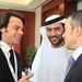 Globe Soccer 2011 - Tommaso Bendoni, Abdullah Al Nabooda and Jorge Mendes