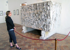 Ludovisi Battle Sarcophagus, with Beth