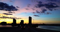 Thankful for Miami Sunsets (miamism) Tags: sunset clouds miami miamiviews miamiskyline juliatuttlecauseway miamisunset miamicondos miamirealestate miamisky miamisms miamiclouds miamisunsets