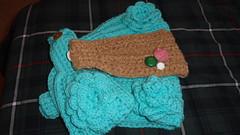 Earwarmers (ccfairie 1) Tags: crochet headband earwarmers