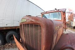 IMG_1808 (dog star boy) Tags: truck trucks tanker trucking tankertruck brockway huskie