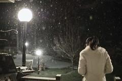小魚第一次看到雪在紐約 (深白色 (Arys Chien)) Tags: snow newyork longisland 雪 omd 紐約 長島 深白色 深白 端妤 nokton25mmf095 olympusem5