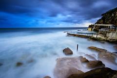 (Eddy+) Tags: blue sky cliff seascape storm rock clouds sunrise eos 7d 1022mm bronte rockpool cloudsstormssunsetssunrises