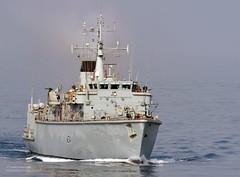HMS Middleton in the Strait of Hormuz (Defence Images) Tags: uk military middleeast free diamond british defense defence escort minesweeper hmsmiddleton type45destroyer m34 hmspembroke surfaceship newsevent straightsofhomuz