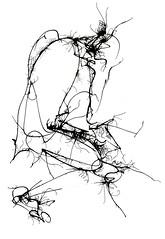 Linea de mujer (Icaro Silencia art) Tags: color textura persona mujer silueta acuarela abstracto tinta ika ica forma cuadro mancha aguadas sumie alquimia trazos icaro ikaro ouches icarosilencia ikarosilencia