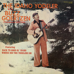 The Idaho Yodeler (Jim Ed Blanchard) Tags: album lp record vinyl vintage cover sleeve jacket god weird funny kooky ugly idaho yodeler yodel snow guitar lapel 70s seventies buzz goertzen ripcord country