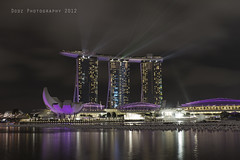 Marina Bay Sands (Dodz Photography) Tags: building marina hotel bay singapore places structure esplanade rafflesplace marinabay uob singaporesciencecenter thefullertonhotel dodzphotography