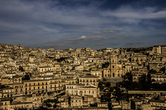 modica, vista panoramica (mat56.) Tags: city panorama landscapes day cloudy panoramica sicily paesaggi sicilia barocco citt modica mat56