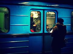 (malidinapoli) Tags: blue subway blauw hungary metro blu mtro budapest bleu blau ungarn hongarije fldalatti metr