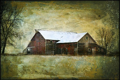 Three Sided Barn (keeva999) Tags: painterly texture abandoned rural nikon farm country rustic barns iowa hss brendastarr d3200 boccacino