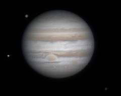 Jupiter animation 12/31/12 (zAmb0ni) Tags: sky night io telescope astrophotography planet astronomy jupiter celestron callisto ganymede asi120mc
