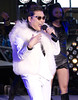 PSY performs in Times Square during New Years Eve celebrations in New York, NY