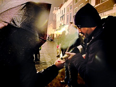 **HAPPY NEW YEAR!** (László_F) Tags: holland netherlands umbrella fuji champagne delft newyear newyearseve fujifilm celebrate share happynewyear oudennieuw x10 poar fujifilmx10 fujix10