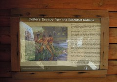 Colter's Escape from the Blackfeet Indians_DSCN8422c (Wampa-One) Tags: history captured legendary story missouri newhaven indians impressive nativeamericans mountainman escaped feat blackfeet lewisandclarkexpedition corpsofdiscovery johncolter lewisandclarknationalhistorictrail newhavenmo johncoltermemorial coltersescapefromtheblackfeetindians