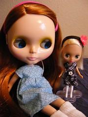 Blythe A Day January 3rd:  Big Sister, Little Sister