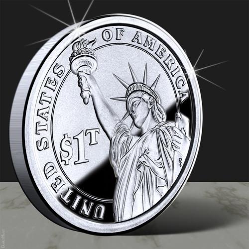 From flickr.com: Trillion Dollar Coin {MID-167128}
