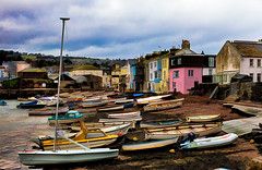 Teignmouth (Ian Hayhurst) Tags: harbour topaz teignmouth simplify