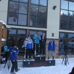 Van Houtte Slalom #1 at Mt. Norquay Jan 10/13 - Blake Ramsden 2nd PHOTO CREDIT: Hallie MacLachlan