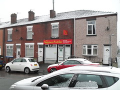 the happiness fish bar - walkden (mrargoman) Tags: england fish bar happiness salford greatermanchester walkden englandgm