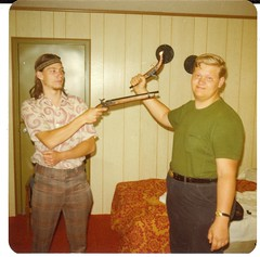 Ken Jones and Larry St.John (captaingreen56) Tags: trip point jones ken stjohn class larry 1975 ceder