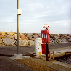 port (naprisi) Tags: ocean sea vacation france 6x6 film water analog mediumformat square holidays mediterranean kodak scan mf nadine quadrat bieg pentaconsixtl mittelformat