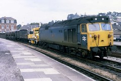 Class 50 50043 Newton Abbot (Stapleton Road) Tags: eagle freight newtonabbot class50 50043