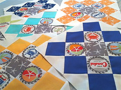 Going Coastal Granny Square Quilt (Sew Fabulous Quilt Shop) Tags: square michael emily quilt going miller coastal granny herrick