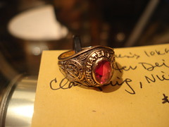 """MATER DEI WOMEN'S CLASS RING. • <a style=""""font-size:0.8em;"""" href=""""http://www.flickr.com/photos/51721355@N02/8431383028/"""" target=""""_blank"""">View on Flickr</a>"""