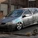 Omar's Bagged Volkswagen Rabbit