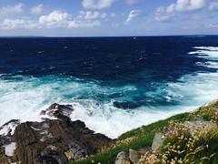 (Ruby L9) Tags: wave ocean shore coast sea seaside sky landscape water cliff