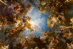 Royal Opera || Versailles (David Marriott - Sydney) Tags: boissysaintlger ledefrance france fr royal opera ceiling painting fresco versailles roof samyang 14mm
