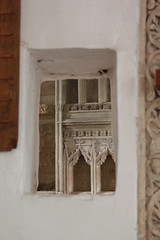 Llantwit Major, Glamorgan (Vitrearum (Allan Barton)) Tags: llantwitmajor glamorgan church medieval reredos squint