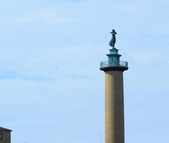 Seaman's wife, Gteborg (blondinrikard) Tags: gteborg summer july 2016 sweden gothenburg sverige tower torn sjmanshustrun seamanswife statue staty masthugget stigberget stigbergstorget sjfartsmuseet