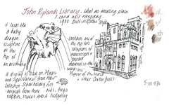 24Jul2016 John Rylands Library3 (alissa duke) Tags: manchester johnrylandlibrary universityofmanchester gargoyle