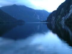 Doubtful Sound, New Zealand 2 (sandytaylornyc) Tags: doubtfulsound newzealand sound water bay waterscape landscape ethereal nature mountains
