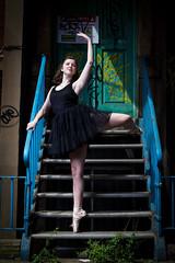 Zoe : Urban Ballerina (Digital-Mechanic.com) Tags: zoe urban ballerina street dance ballet pointe shoes tutu grafitti distressed