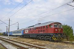 07 065 (Rivo 23) Tags: bdz cargo bulgarian state railways diesel locomotive class 07 065 special restoration train infrastructure derailment tacraf crane