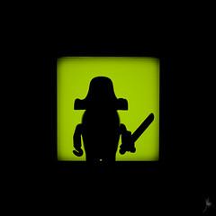 Shadow (225/100) - Pirate pig (Ballou34) Tags: 2016 650d afol ballou34 canon eos eos650d flickr lego legographer legography minifigures photography rebelt4i stuckinplastic t4i toy toyphotography toys rebel stuck plastic photgraphy blackwhite light shadow enevucube minifigure 100shadows angry birds movie piggy pig green hat pirate boat hook