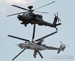 AgustaWestland WAH-64D Apache AH1 ZJ203 UK AAC + Mil Mi-24V Hind 3368 CzAF | ILA Berlin 2016 (Horatiu Goanta Aviation Photography) Tags: boeing apache agustawestland ah64 h64 ah64apache airforce militaryaviation helicopter hubschrauber chopper heli helo gunship helicoptergunship assaulthelicopter attackhelicopter turboshaft nato wah64d apacheah1 zj184 ukarmy britisharmy armyaircorps aac britisharmyaircorps mil mi24 hind mi24hind transporthelicopter transporthubschrauber coldwaraircraft coldwarhelicopter sovietaircraft russianaircraft combat military turbine mi24v czechairforce czaf ila2016 ila ilaberlin schnefeld berlinschnefeld sxf eddb germany deutschland horatiu goanta horatiugoanta display airshow aerobatics aircraft airplane flugzeug flughafen aviation aerospace flugschau longbowapache