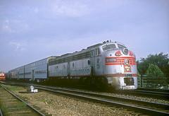 CB&Q E9 9987B (Chuck Zeiler) Tags: cbq e9 9987b burlington railroad emd locomotive naperville dinky train chz chuck zeiler