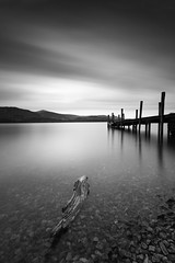 Ashness Jetty Derwent Water (mrcheeky2009) Tags: fineart sunset blackandwhite monochrome beach longexposure water movement motion arty artistic dramatic drama beautiful stunning special canon5dii canon canon1740mml