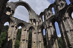 Arches (Maria .... still trying to find my way!) Tags: abbey fountainsabbey stone arches